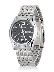 Hombre Mujer Unisex Reloj Deportivo Reloj de Vestir Reloj de Moda Reloj de Pulsera Cuarzo Calendario Resistente a los Golpes Esfera Grande