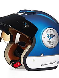 -381c de moto casque demi reus rétro matériel abs casque harley
