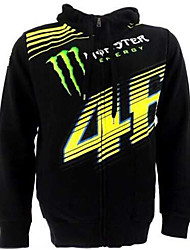 Motorcycle Warm Coat Riding Jacket Cardigan Hoodie Unisex