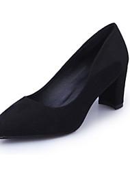 Для женщин На плокой подошве Удобная обувь сутулятся сапоги Ткань Весна Осень Повседневные Для прогулок Удобная обувь сутулятся сапогиНа