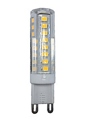 10pcs g9 51smd 2835 3.5w 350-400lm quente branco / branco decorativo ac220-240v levou LED bi-pin