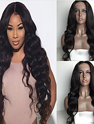 Human Hair Lace Wigs Brazilian Human Hair Lace Front Human Hair Wigs For Blank Woman Wave Wigs 100% Virgin Human Hair Wig with Baby Hair