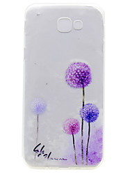 For Samsung Galaxy A7(2017) A5(2017) TPU Material Dandelion Pattern Painted Phone Case  A3(2017) A510 A310