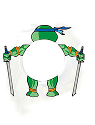 Most Cool Teenage Mutant ninja Turtles Car Sticker Car Tail Logo Decoration DIY Vinyl Decal for VW BMW SUZUKI SKODA NISSAN BUICK(4PCS)