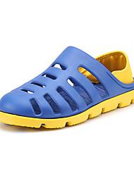 Masculino-Sandálias-Buraco Shoes-RasteiroCouro Ecológico-Ar-Livre Casual Para Esporte
