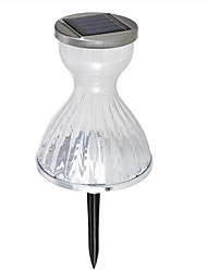 Young Woman Skirt Stainless Steel Insert Lawn Lamp