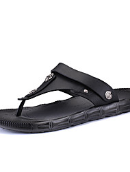 Summer Cool Slippers Men Flip-flops Slippers Thong Breathable Leisure of Middle-aged And Young Men's Shoes