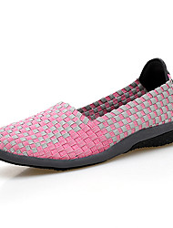 Women's Shoes Spring And Summer Shoes Woven Shoes Casual Shoes Lazy Shoes Trainers Breathable Light Walked Briskly