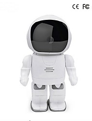 960P Robot IP Camera HD WIFI Baby Monitor 1.3MP CMOS Wireless CCTV P2P Audio IR Night Vision