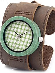 Men's Women's Unisex Sport Watch Military Watch Dress Watch Fashion Watch Wrist watch Bracelet Watch Japanese Quartz Punk Genuine Leather