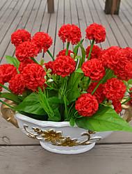 1 Ramo Plástico Orquideas Flor de Mesa Flores artificiais 39*5