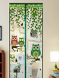Rideau de moustique Polyester avecFonctionnalité est Cryptage et magnétique , Pour Fenêtre de porte