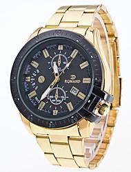 Men's At Single Epoch Is High-Grade Commercial Alloys Quartz Watch