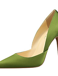 Women's Heels Spring Summer Fall Winter Club Shoes Comfort Fabric Office & Career Party & Evening Dress Stiletto Heel Hollow-out Walking