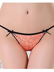 Push-Up Solid G-strings & Thongs Panties G-string Underwear,Nylon