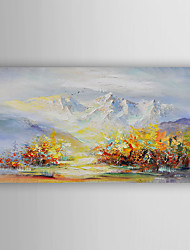 Hand-Painted  Abstract  Landscape Canvas Oil Painting With Stretcher For Home Decoration Ready to Hang