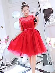 Nouvelle taille lourde de taille grande robe de balançoire robe de tressée de gaze