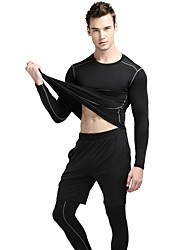 SOBIKE® Men's Running Clothing Sets/Suits Quick Dry High Breathability (>15,001g) Protective Spring Summer Fall/AutumnTaekwondo Boxing