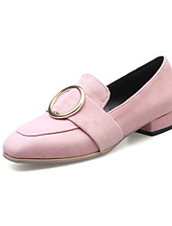Women's Loafers & Slip-Ons Spring Fall Slingback Leatherette Casual Low Heel