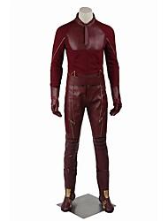 Costumes de Cosplay Costume de Soirée Superhéros Cosplay Cosplay de Film Couleur PleineManteau Pantalon Gants Ceinture Armes et Armures