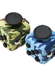 Anxiety Reliever Fidget Dice Cubic Cube Fidget Toys for Focusing / Stress Relieving ABS -- Camouflage