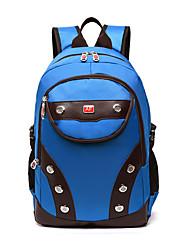 Unisex Backpack Nylon All Seasons Casual Outdoor Bucket Zipper