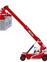 Véhicule de Construction Véhicules à Friction Arrière 1h50 Métal Rouge