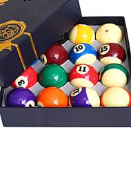 Billiard Balls Pool Case Included Waterproof Resin