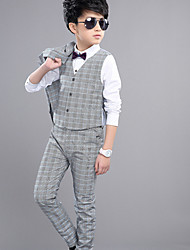 Boys' Formal Striped Sets,Cotton Summer Spring Fall Clothing Set