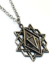Assassin Movie  Star Amulet Premium Necklace Cosplay Hollow Necklace Metal