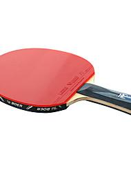 Table Tennis Rackets Ping Pang Carbon Fiber Long Handle Pimples 1 Racket 3 Table Tennis Balls 1 Table Tennis BagOutdoor Performance