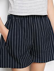 Le modèle réel de modèle réel était mince, les vêtements extérieurs, les pantalons élastiques, les pantalons élastiques, les shorts