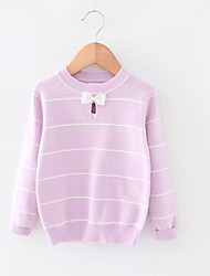 Casual/Daily Solid Blouse,Cotton Fall