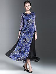 Sign Spot 2017 new spring dress temperament Chinese wind retro dress
