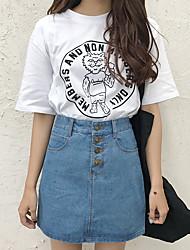 Действительно делает korea новой нормой в Европе и Америке ретро aa нагрудник кнопка без бомб джинсовая юбка юбки юбка