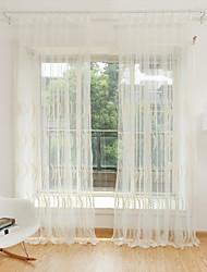 2 шторы Окно Лечение Цветы Спальня Полиэстер материал Занавески Оттенки Украшение дома For Окно