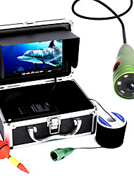 MOUNTAINONE 30M 1000tvl Underwater Fishing Video Camera 6 PCS LED Lights 7 Inch Color Monitor
