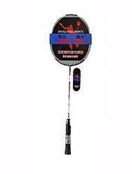Raquettes de Badminton Etanche Haute résistance Haute élasticité Carbone en alliage d'aluminium 1 Pièce pourIntérieur Extérieur