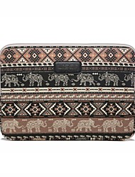 "Sleeve for Macbook 13"" Macbook Air 11""/13"" Macbook Pro 13""/15"" MacBook Pro 13""/15"" with Retina display Bohemian Style Canvas Material Shockproof"