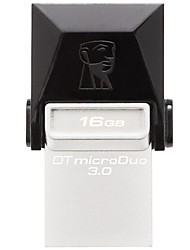 Kingston DTDUO3 16GB USB 3.0 Flash Drive OTG Micro USB Mini Ultra-Compact