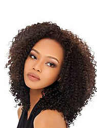 High Density and Quality Brazilian Human Virgin Full Lace Front Hair Wigs With Baby Hair Kinky Curly For Black Women Lace Front