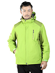 LEIBINDI® Men's Winter Jacket 3-in-1 Jackets Skiing Camping / Hiking Snowsports Snowboarding Waterproof keep warm Thermal / Warm Windproof