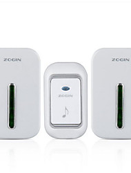 Smart Digital Electronic Doorbell Wireless Doorbell A Drag Two Doorbell Waterproof Light Flashing