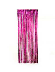 Width 100cm*Longth 200cm New Fringe Door Rain Curtains Party Christmas Wedding Photo Booth Props Marriage Gathering Backdrop Decoration