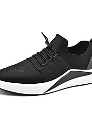 Men's Sneakers Spring Summer Fall Winter Comfort PU Outdoor Athletic Casual Lace-up