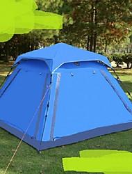 3-4 Personen Einzeln Einzimmer Camping ZeltWandern Camping Reisen-Blau