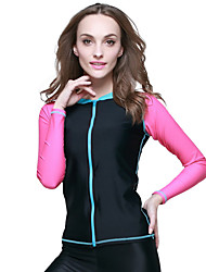 Sports Women's Wetsuits Breathable Cotton Diving Suit Long Sleeve Tops-Swimming Diving Summer Classic
