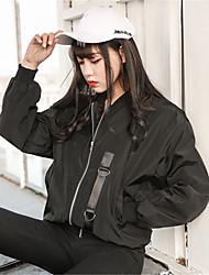 assinar korea ulzzang impressão harajuku bf vento seção fina gola do casaco uniforme de beisebol feminino