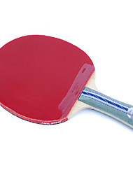 5 Stars Table Tennis Rackets Ping Pang Wood Long Handle Pimples Indoor Performance Practise Leisure Sports-#