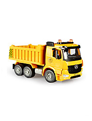 Construction Vehicle Toys Car Toys 1:20 Plastic Yellow Model & Building Toy